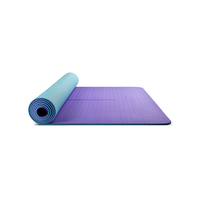 TPE Double Color Yoga Mat 183*61* 6cm Tpe Yoga Mat Exporter