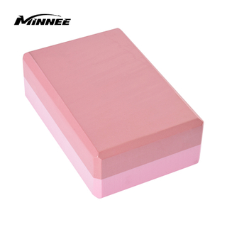 MINNEE Yoga Block High Density EVA Foam Exercise Blocks colorful blocks