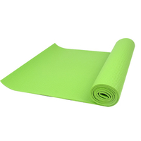 Custom Printed Logo Eco Friendly High Performance PVC Yoga Mat