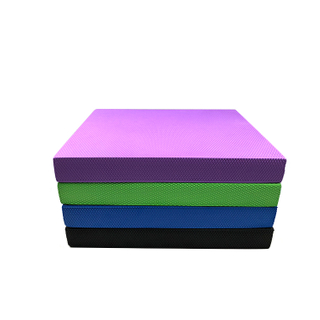Soft yoga accessories tpe foam Square balance pad