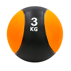 Fitness Power Rubber Medicine Ball with rope